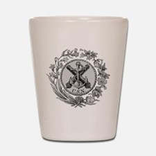 Confederate States Navy Shot Glass