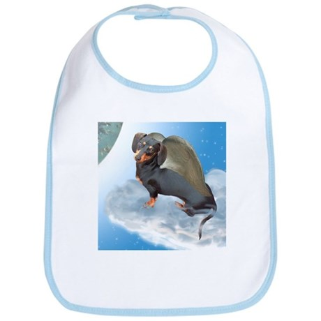 Angel Dachshund Dogs Bib