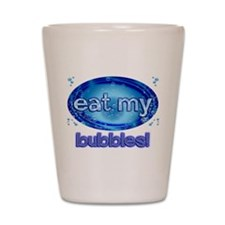 Bubbles Shot Glass