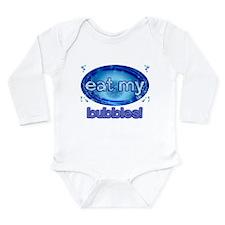 Bubbles Long Sleeve Infant Bodysuit