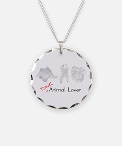 Towel Animal Lover Necklace
