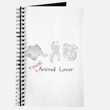 Towel Animal Lover Journal