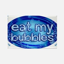 Bubbles Rectangle Magnet