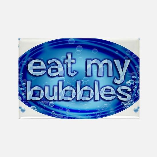 Bubbles Rectangle Magnet