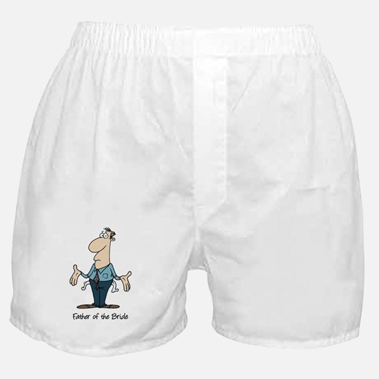 Funny Father of the Bride Boxer Shorts