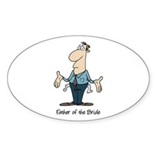 Funny Father of the Bride Decal
