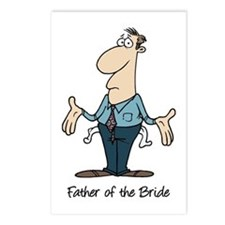Funny Father of the Bride Postcards (Package of 8)