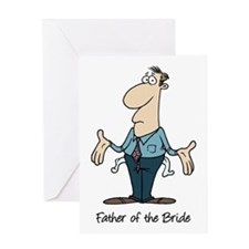 Funny Father of the Bride Greeting Card