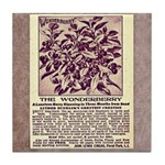 Wonderberry Vintage Ad from 1909 Tile Coaster