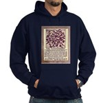 Wonderberry Vintage Ad from 1909 Hoodie (dark)