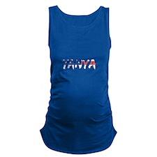 Ironed Man Women's Plus Size V-Neck Dark T-Shirt