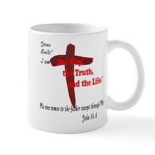 Jesus is the way,truth,life. Mug