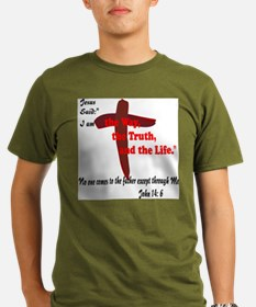 Jesus is the way,truth,life. T-Shirt