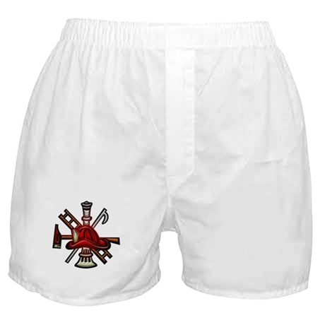 Firefighter/Rescue Tools Boxer Shorts