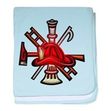 Firefighter/Rescue Tools baby blanket