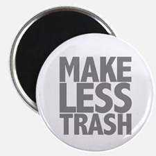 "Make Less Trash 2.25"" Magnet (100 pack)"