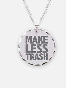 Make Less Trash Necklace