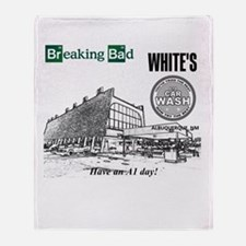 Breaking Bad Car Wash Throw Blanket