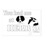 You Had Me at Herro Postcards (Package of 8)