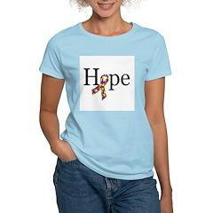 Autism HOPE Ribbon T-Shirt