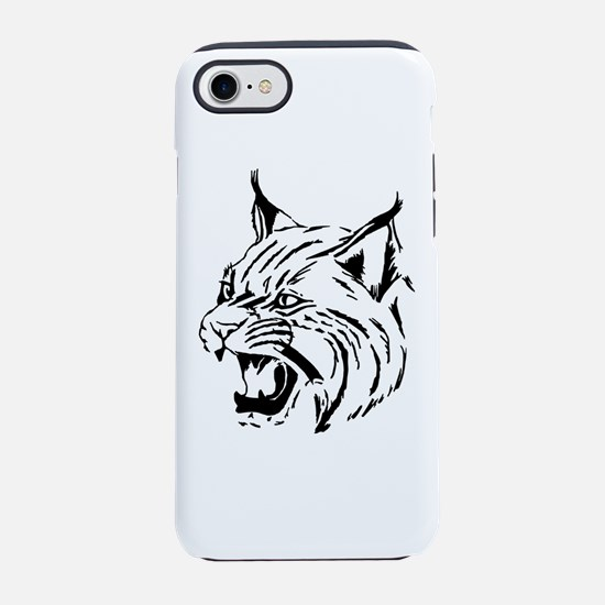 Tiger Wildcat Cat Head Face Li iPhone 7 Tough Case