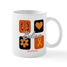 Believe Leukemia Awareness Mug