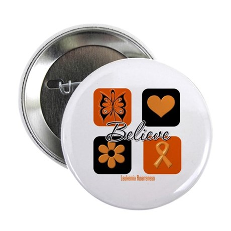 "Believe Leukemia Awareness 2.25"" Button"