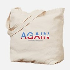 Obama AGAIN Tote Bag