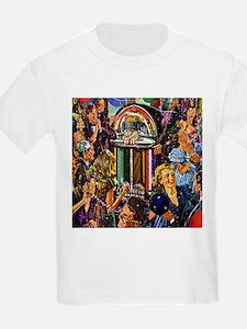Jutebox Retro Kids T-Shirt