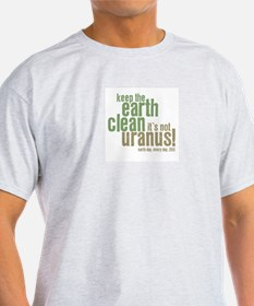 Earth Day - Keep the Earth clean Ash Grey T-Shirt
