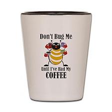 Coffee Bug Shot Glass