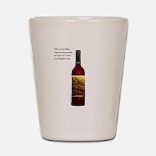 Wine Bottle Shot Glass