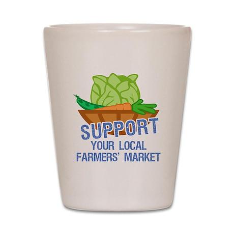 Farmers Market Shot Glass