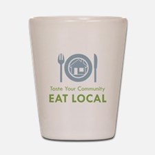Taste Local Shot Glass