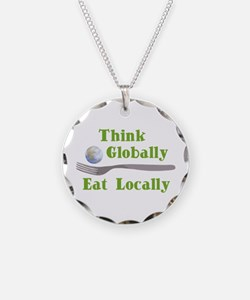 Eat Locally Necklace