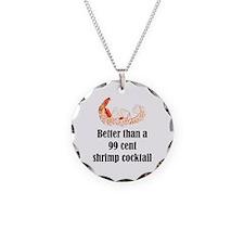 Shrimp Cocktail Necklace