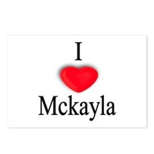 Mckayla Postcards (Package of 8)