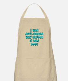 I was anti-Obama Apron