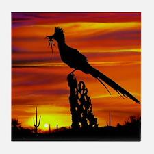 Cute Wildlife art Tile Coaster