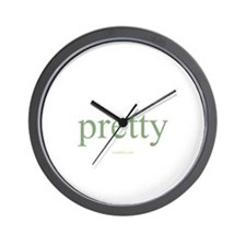 pretty Wall Clock