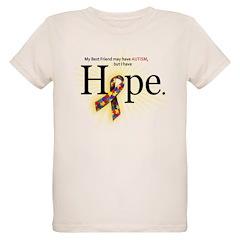 Autism HOPE Ribbon (Best Friend) T-Shirt