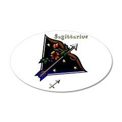 Sagittarius Zodiac Sign Art 38.5 x 24.5 Oval Wall