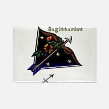 Sagittarius Zodiac Sign Art Rectangle Magnet