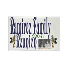 Rectangle Magnet with Reunion Logo