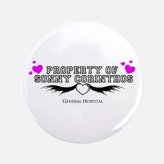 """PROPERTY OF SONNY GH 3.5"""" Button"""