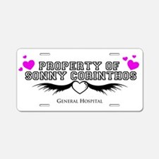 Property of Sonny GH Aluminum License Plate