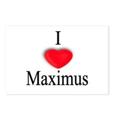 Maximus Postcards (Package of 8)
