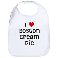 I * Boston Cream Pie Bib