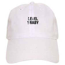 Level 1 Baby Baseball Cap