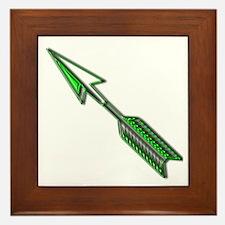 """""""Green Arrow"""" Framed Tile"""